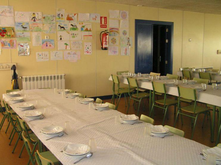 Comedor escolar colegio p blico la vallina luanco for Trabajo de comedor escolar