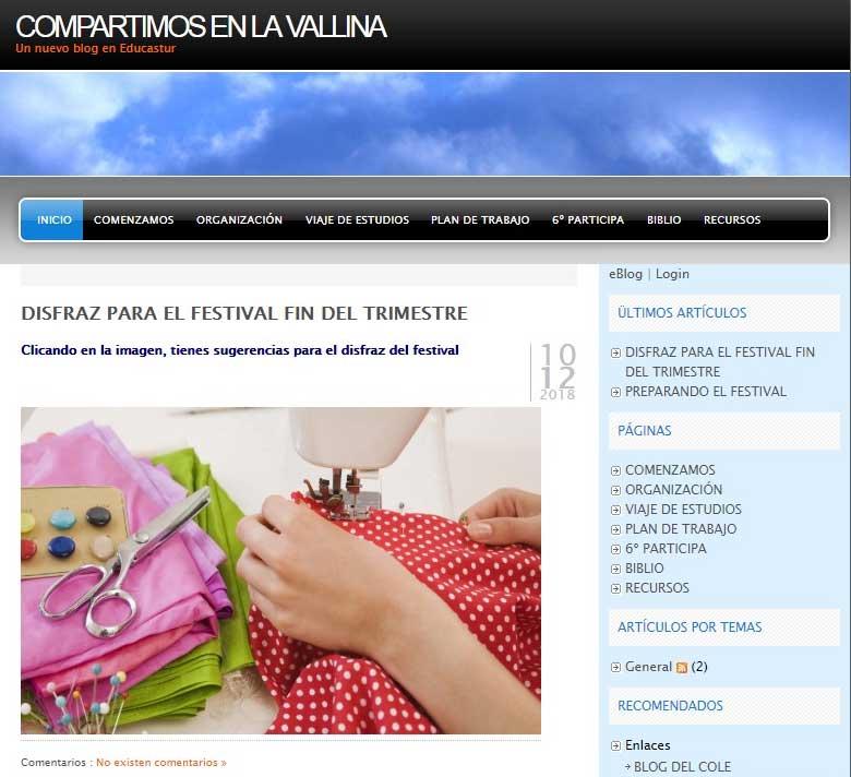 Nuevo Blog De Sexto