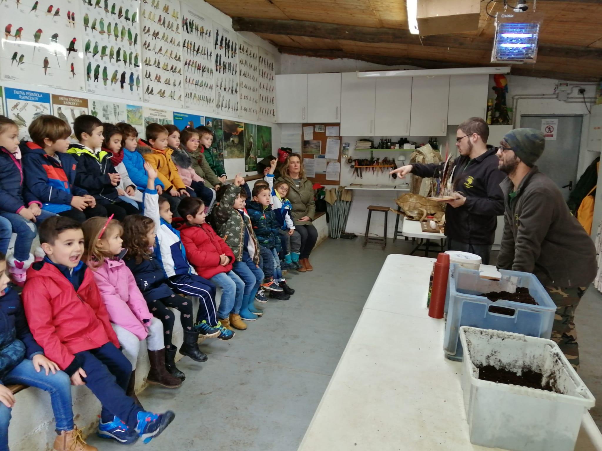 """Educación Infantil 5 Años Visita El Zoo """"EL BOSQUE """" En Oviedo"""