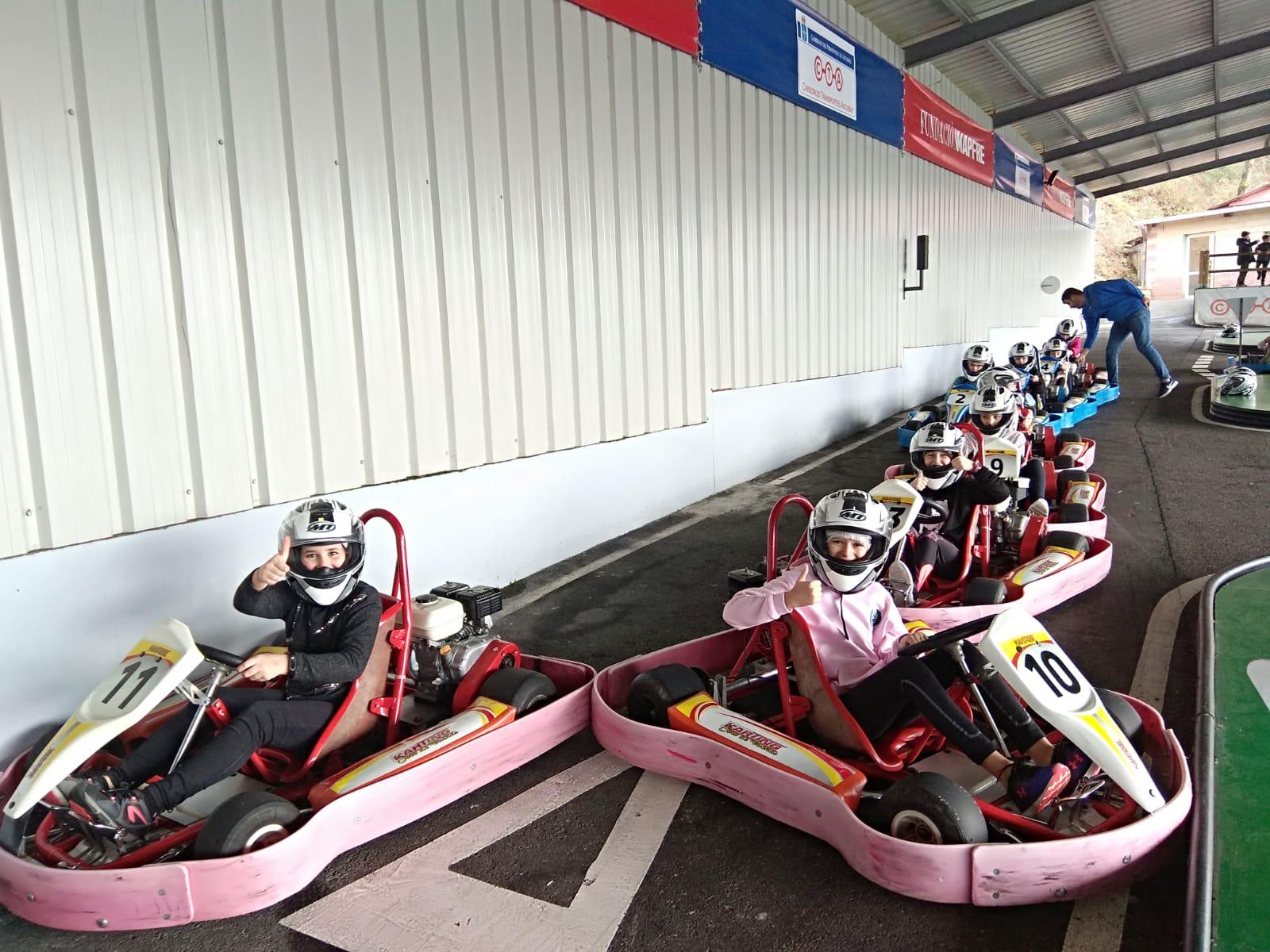 Quinto Hace Prácticas En El Karting Soto De Dueñas