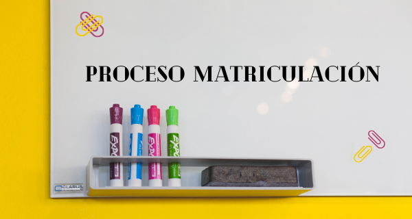 Calendario Del Proceso De Matriculación Curso 2020-2021