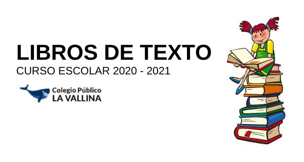 Libros De Texto Curso 2020 – 2021
