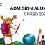 Admisión Curso 2020 – 2021 C.P. La Vallina