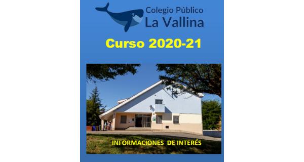 PLAN DE ACTUACIÓN GENERAL DEL CURSO 2020 – 2021 (INFANTIL Y PRIMARIA)