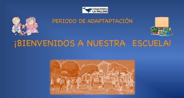 Planificación Del Período De Adaptación De E. Infantil 3 Años