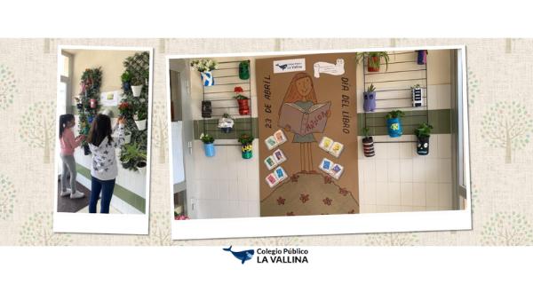 Sexto De Primaria: Plantas, Libros Y Flores En La Semana Cultural